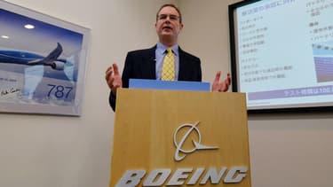 Mike Sinnett, le vice-président de Boeing
