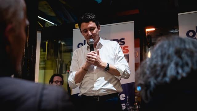 Benjamin Griveaux, candidat LaREM aux municipales à Paris, le 12 novembre 2019