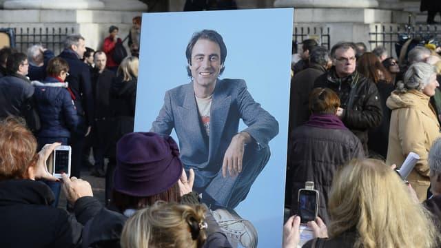 Les obsèques de Michel Delpech se sont tenus à l'église Saint-Sulpice à Paris