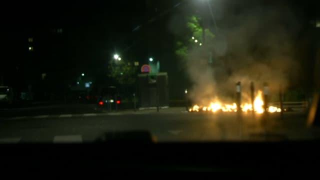 De nouvelles violences ont éclaté dans le quartier du Grand Mirail. -