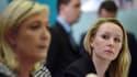 Marine Le Pen et Marion Maréchal-Le Pen en mars 2015