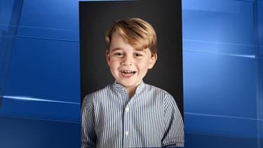 La photo officielle du prince George.