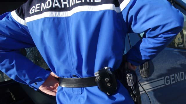 Un gendarme, image d'illustration.