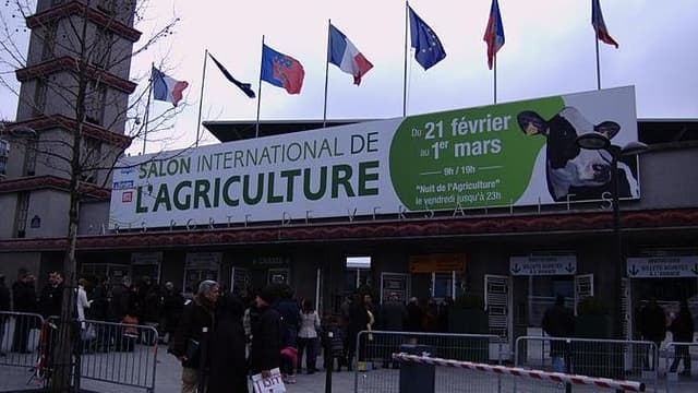 Le Parc des expositions en 2009 lors du salon de l'agriculture