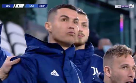 Ronaldo sur le but de Rabiot
