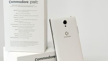 Pour se refaire un nom, Commodore va lancer un smartphone performant à moins de 300 euros.