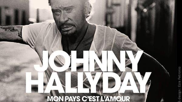 La pochette de l'album posthume de Johnny. - Warner
