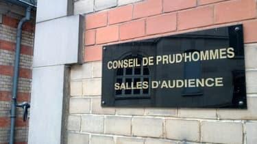 Le conseil des prud'hommes de Strasbourg.