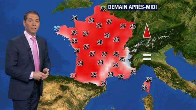 La journée de samedi sera particulièrement belle sur toute la France.