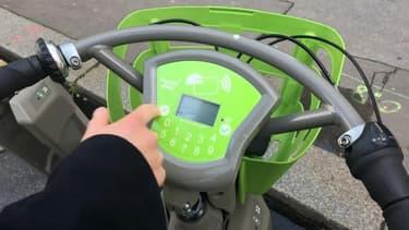 Un vélib développé par Smovengo