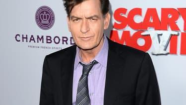 Charlie Sheen en 2013 à Hollywood.