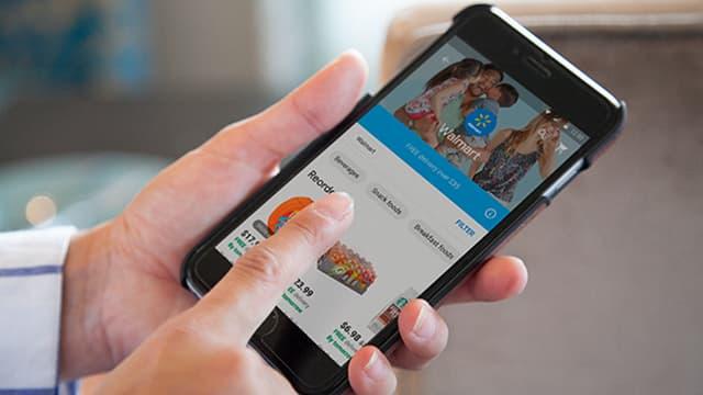 Walmart a mis de plus en plus l'accent sur le e-commerce ces dernières années