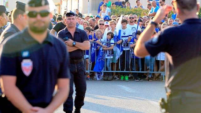 Les supporters bastiais interdits à l'Allianz Riviera