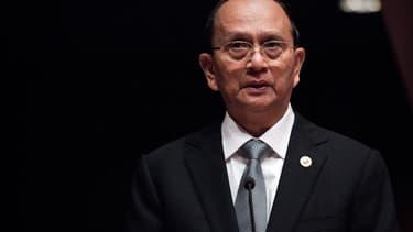 Le président Thein Sein, ancien Premier ministre de la junte militaire, a été élu président en 2011.