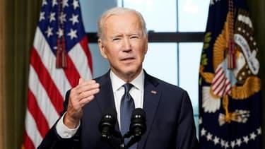 Le président américain Joe Biden, à la Maison Blanche, le 14 avril 2021