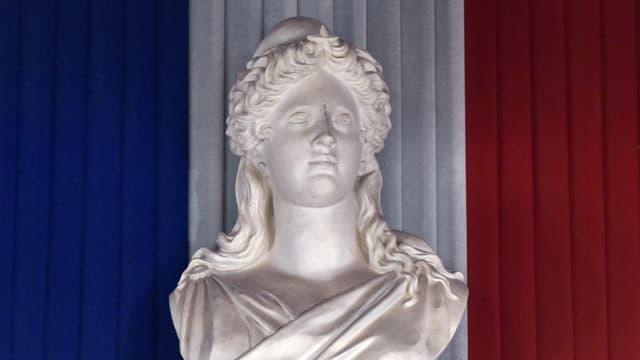 Un sculpture de Marianne, à Toulouse (photo d'illustration)