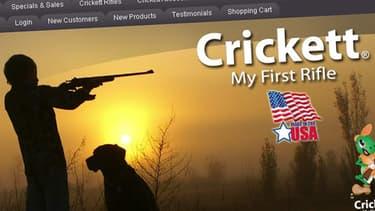 L'entreprise Crickett, qui a fabriqué l'arme à l'origine du drame, est spécialisée en véritables armes à feu pour les enfants.