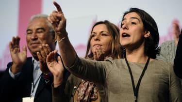 À droite de l'image, la socialiste Frédérique Espagnac.