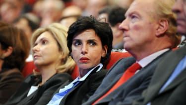 Rachida Dati et Brice Hortefeux en 2008.