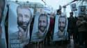 Paris, 1er février 2013: manifestation pour la libération de Nadir Dendoune
