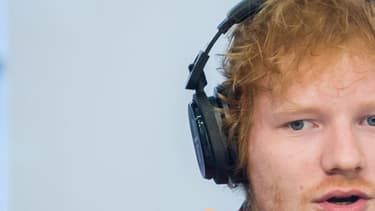 Le chanteur Ed Sheeran.