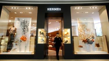 Le bénéfice d'Hermès a progressé de 9% en 2014.