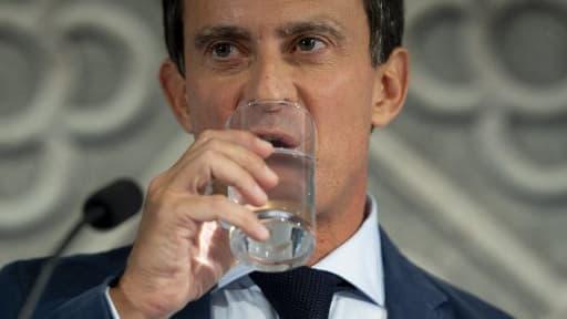 Manuel Valls à Barcelone - Image d'illustration