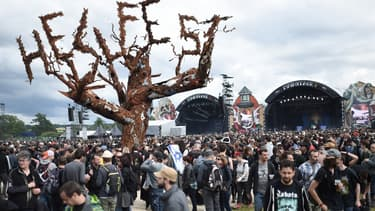 Le site du Hellfest à Clisson, en Loire-Atlantique, le 17 juin 2016. (Photo d'illustration)