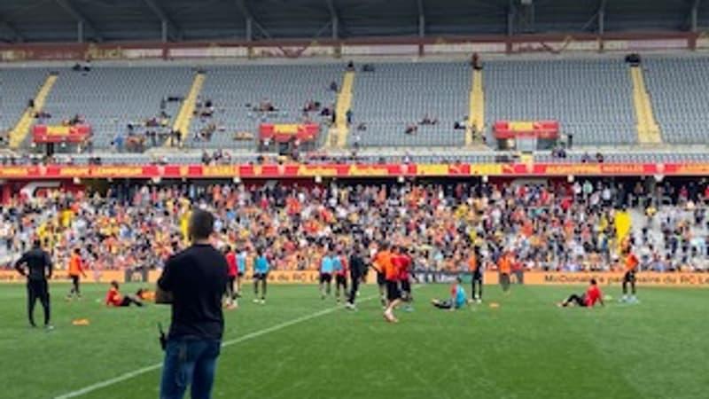 Ligue 1: l'ambiance monte déjà à Lens avant le derby face à Lille