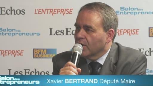 Xavier Bertrand était présent sur le salon des entrepreneurs