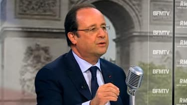 François Hollande a égratigné le patron des patrons.