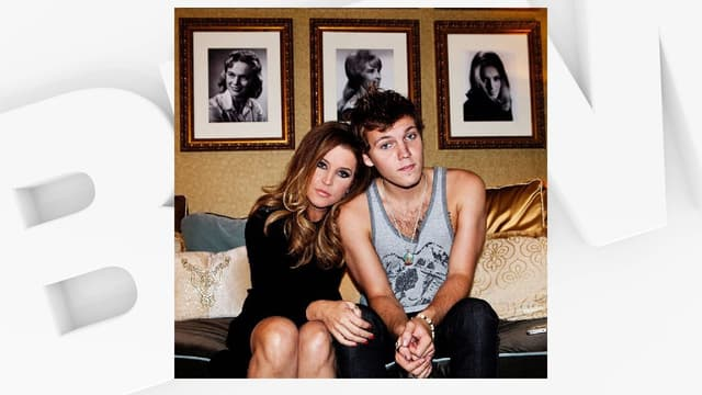 Lisa Marie Presley et son fils Benjamin Keough