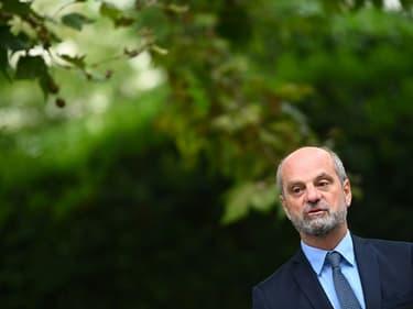 Le ministre de l'Éducation nationale Jean-Michel Blanquer le 26 août 2021 à Paris