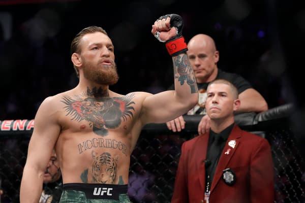 Conor McGregor, star de l'UFC