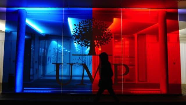 Le siège de l'UMP à Paris