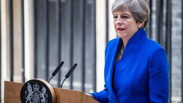 Theresa May, le 9 juin 2017.