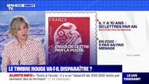 Le timbre rouge de La Poste va-t-il disparaître ? BFMTV répond à vos questions