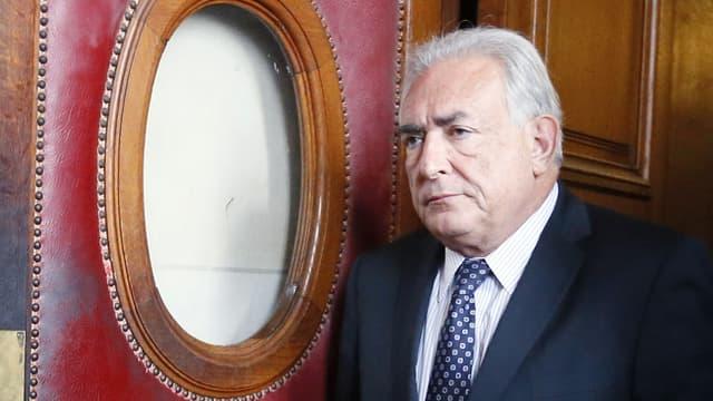 Dominique Strauss-Kahn en février 2013, à Paris.