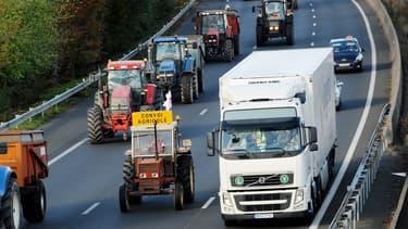 Les agriculteurs veulent converger vers Paris le 27 novembre