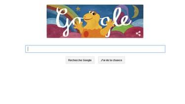 Google fête les quarante ans de Casimir ce mardi.
