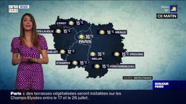 Météo Paris-Ile de France du 8 juillet: Un dégradé nuageux