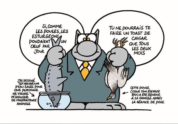 La Rumba du Chat, par Philippe Geluck