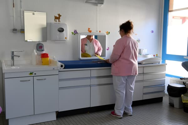 Le centre périnatal de Die, dans la Drôme, en mars 2019