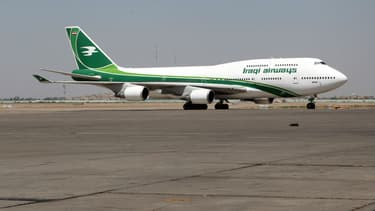 Un avion d'Iraqi Airways
