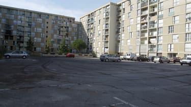 Vue de HLM du quartier de l'Ariane, prise le 10 novembre 2006 à Nice. (Photo d'illustration)