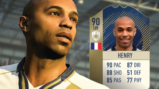 Titi Henry est de la partie dans FIFA 18