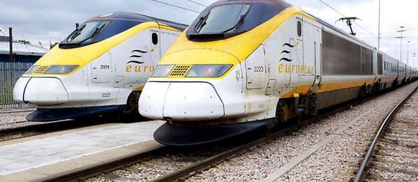 Le TGV TMST connu sous le nom d'Eurostar