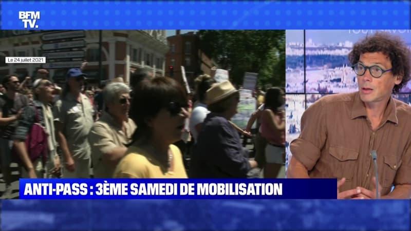 Anti-pass: troisième samedi de mobilisation - 31/07