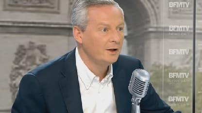 Bruno Le Maire, député UMP, était l'invité de Jean-Jacques Bourdin lundi.