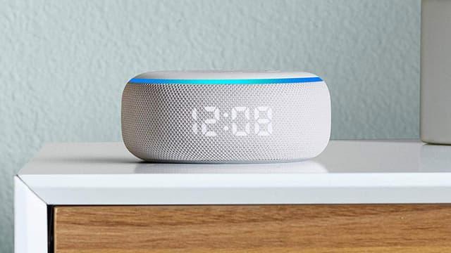 L'enceinte connectée Amazon Echo Dot